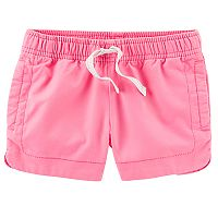 Girls 4-8 Carter's Color Side-Split Shorts