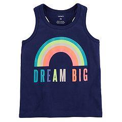 Girls 4-8 Carter's Slogan Graphic Racerback Tank Top