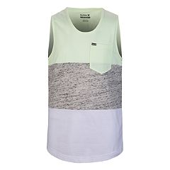 Boys 4-7 Hurley Colorblock Pocket Tank Top