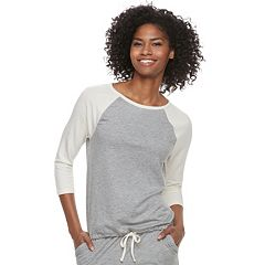Women's SONOMA Goods for Life™ Raglan Drawstring Tee