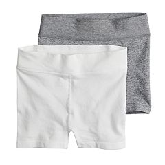 Girls 7-16 Maidenform 2-pack Seamless Boyshorts