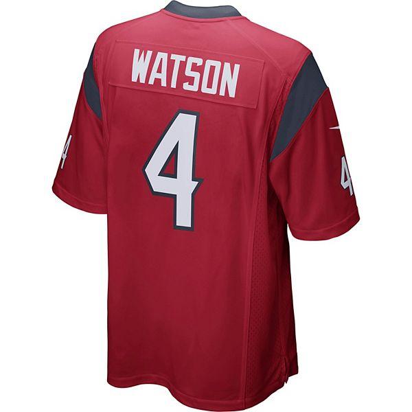 Men's Nike Houston Texans Deshaun Watson Jersey