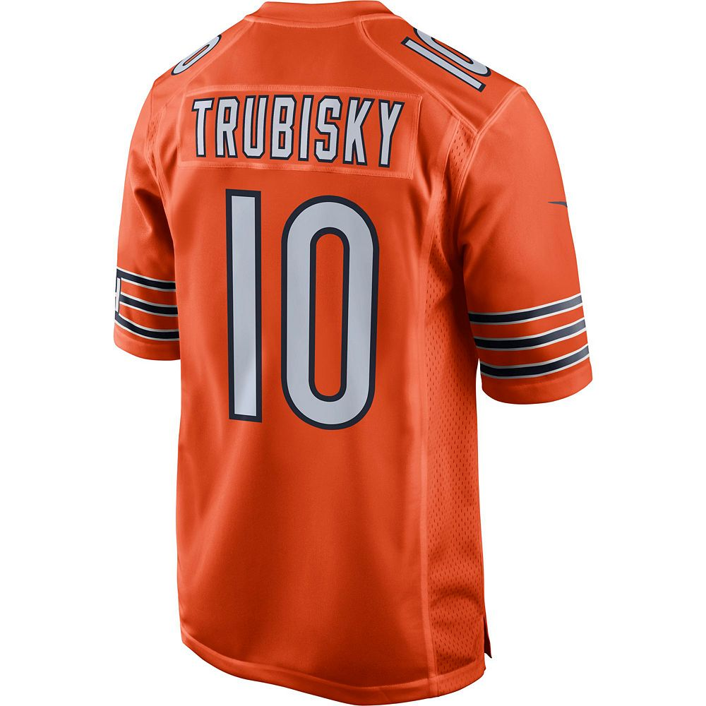 Men's Nike Chicago Bears Mitch Trubisky Jersey