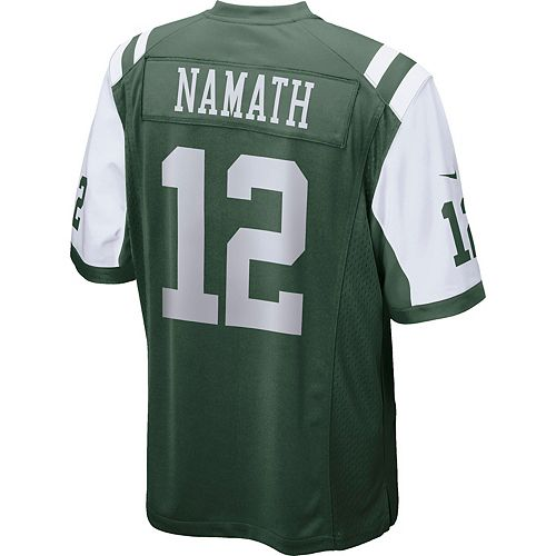 Nice Men's Nike New York Jets Joe Namath Jersey  free shipping
