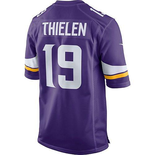 online retailer aa015 543bd Men's Nike Minnesota Vikings Adam Thielen Jersey
