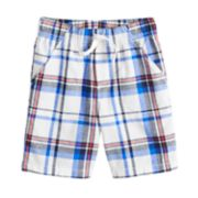 Boys 4-10 Jumping Beans® Americana Plaid Shorts