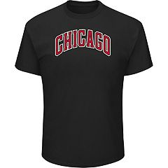 Men's Majestic Chicago Bulls City Wordmark Tee