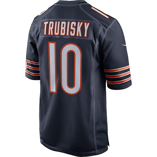 online store 6f3ec 859b2 Men's Nike Chicago Bears Mitch Trubisky Jersey