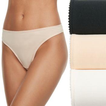 Women's Heidi Klum Intimates 3-pack Thong Panties A37-0030