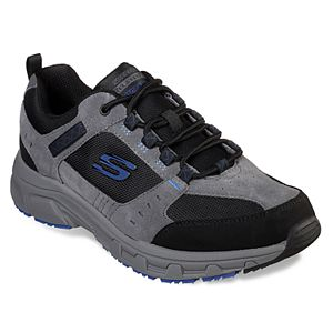 discount later famous designer brand Skechers Relaxed Fit Crossbar Men's Sneakers