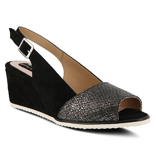 Spring Step Evia Women's Wedge Slingback Sandals