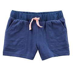Toddler Girl Carter's Slubbed Shorts