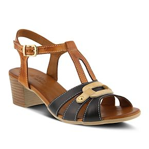 Spring Step Stafani Slingback(Women's) -Green Multi Leather For Sale YfnLS5pz