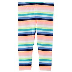 Toddler Girl Carter's Striped Full-Length Leggings