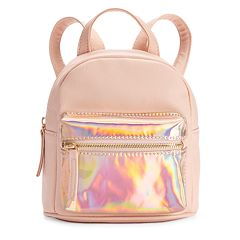 OMG Accessories Hologram Mini Backpack