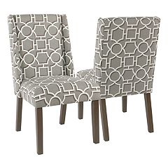 HomePop Dinah Modern Dining Chair 2-piece Set