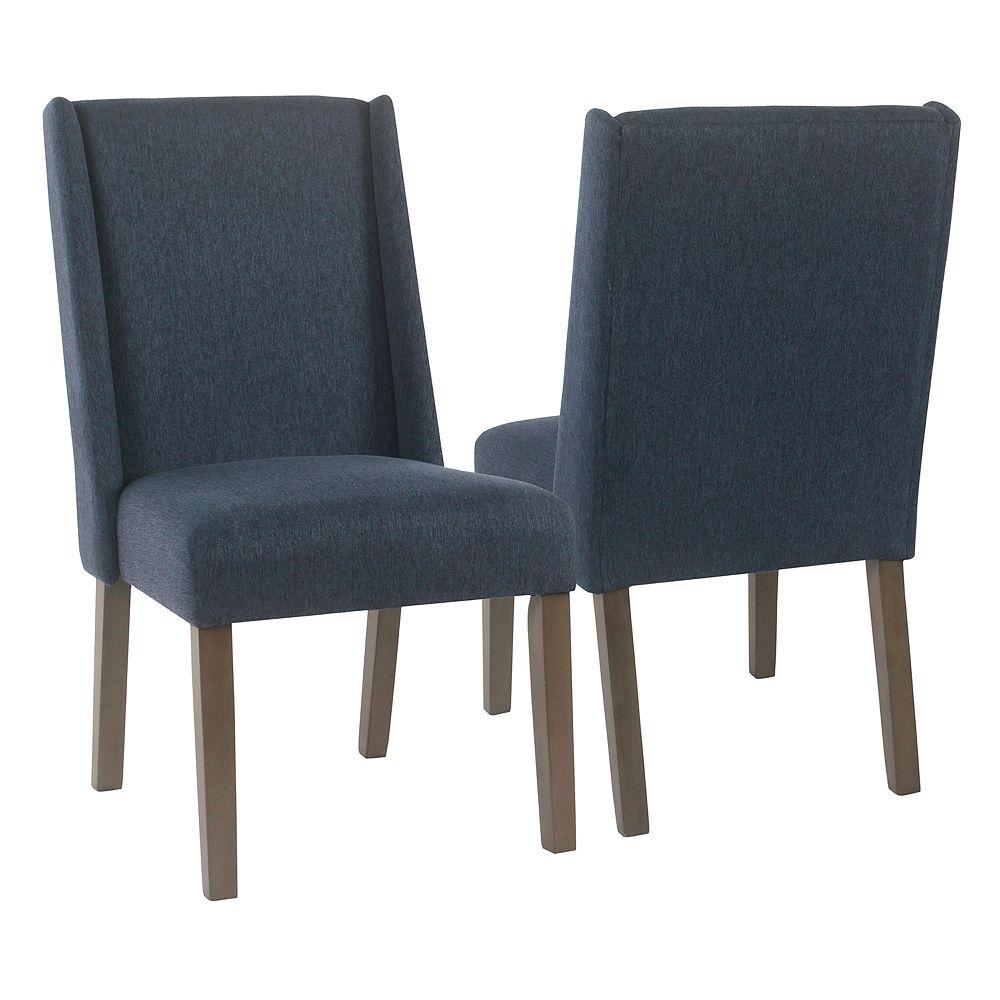 HomePop Dinah Modern Dining Chair 2-piece Set