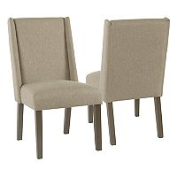 HomePop Dinah Modern Dining Chair 2 pc Set