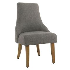 HomePop English Arm Dining Chair