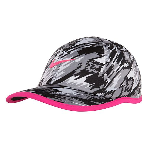 093fd9bf9a80c Toddler Girl Nike Featherlight Hat Baseball Cap