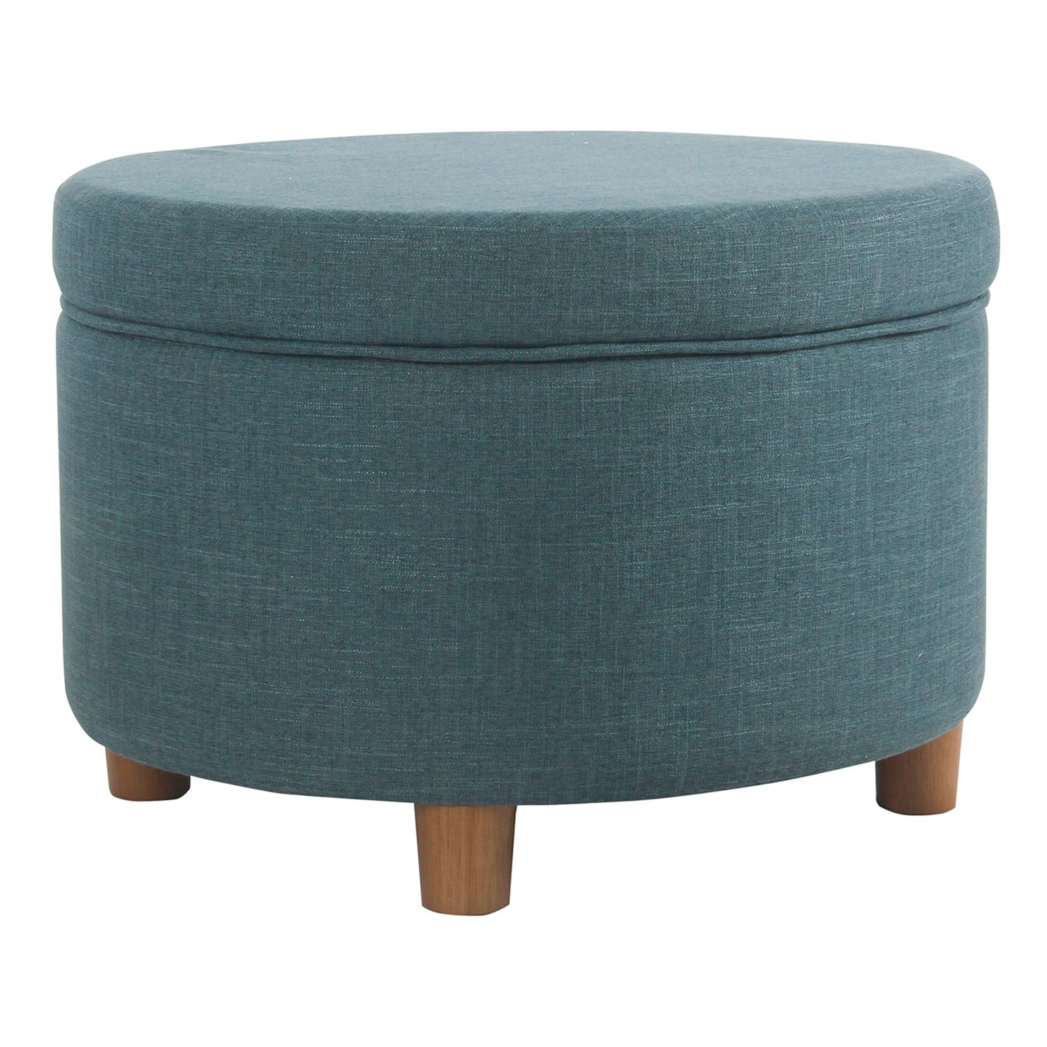 Ordinaire HomePop Round Storage Ottoman