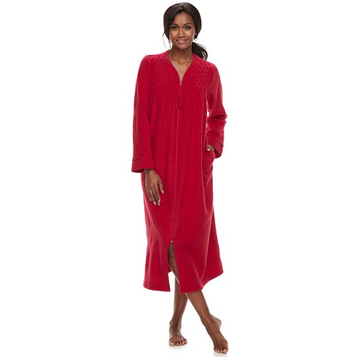Petite Miss Elaine Essentials Brushed Terry Robe 62ea3778f