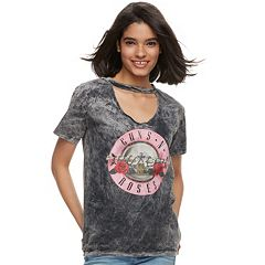 Juniors' Guns N' Roses Gigi Graphic Tee