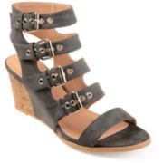 Journee Collection Monika Women's Wedge Sandals