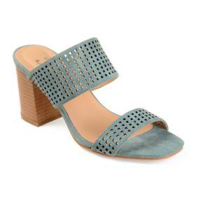 Journee Collection Sonya ... Women's High Heel Mules