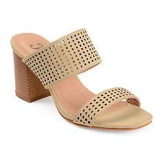 Journee Collection Sonya Women's High Heel Mules