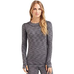 Women's Cuddl Duds Flexfit Crewneck Top