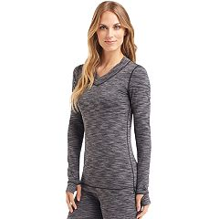 Women's Cuddl Duds Flexfit V-Neck Top