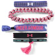 Girls 4-16 Under Armour 5-pack Logo Wristbands
