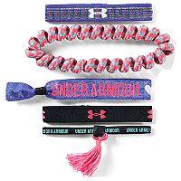 Girls 4-16 Under Armour 5-pack Logo Wristbands