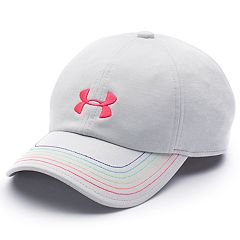 Girls 4-16 Under Armour Logo Free Fit Cap