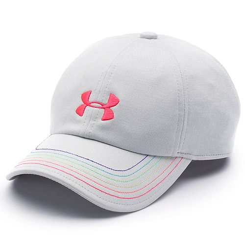 Girls 4-16 Under Armour Logo Free Fit Cap