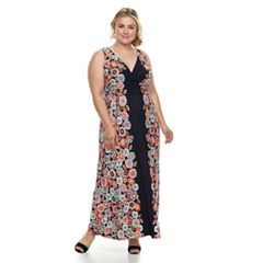 Plus Size Suite 7  Floral Maxi