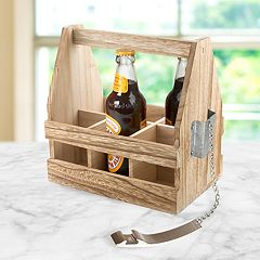 Artland Mixology Beer Caddy with Opener