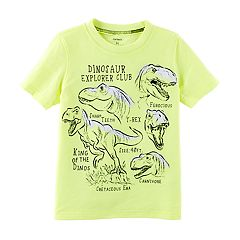 Boys 4-8 Carter's 'Dinosaur Explorer Club' Graphic Tee