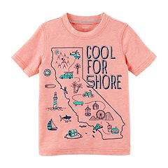 Boys 4-8 'Cool for Shore' California State Graphic Tee