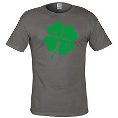 Big & Tall Lucky Clover Leaf Tee