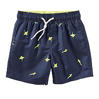 Boys 4-8 OshKosh B'gosh® Shark & Sting Ray Swim Trunks