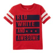"Boys 4-8 Carter's ""Red, White & Awesome"" Graphic Tee"