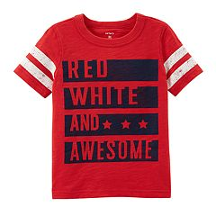 Boys 4-8 Carter's 'Red, White & Awesome' Graphic Tee