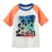 "Boys 4-8 OshKosh B'gosh® ""Chill"" Beach Rash Guard"