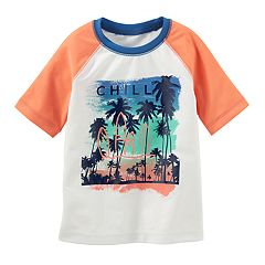Boys 4-8 OshKosh B'gosh® 'Chill' Beach Rash Guard