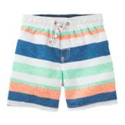 Boys 4-8 OshKosh B'gosh® Striped Swim Trunks