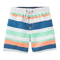 Boys 4-8 OshKosh B'gosh® Striped Swim Trunks