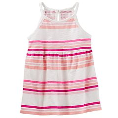 Toddler Girl OshKosh B'gosh® Babydoll Halter Tank Top