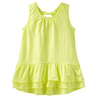 Toddler Girl OshKosh B'gosh® Ruffled-Hem Tank Top